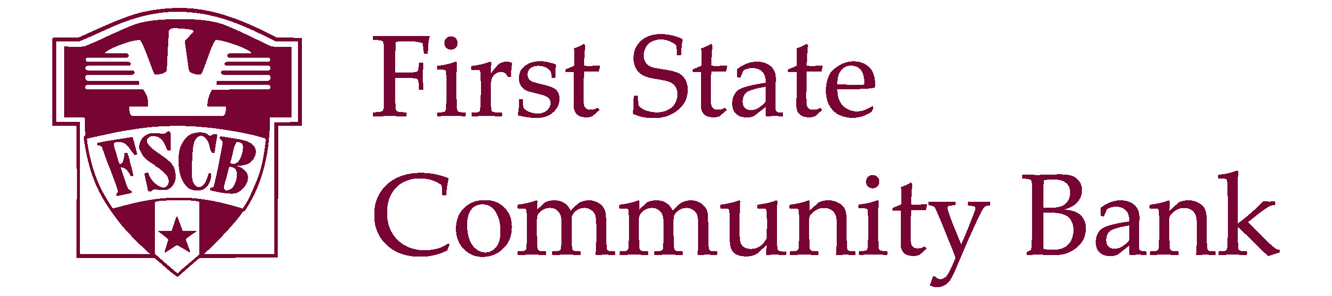 First state community bank horizontal color logo
