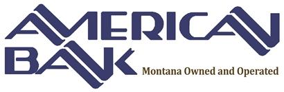 American bank blue logo